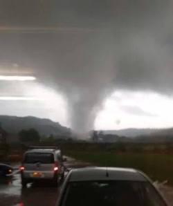 Tornado in Cumbria